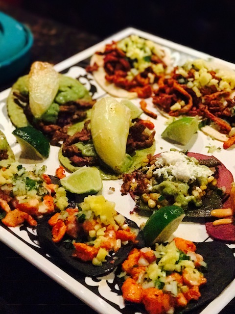 Tacos at Machete Tequila and Tacos