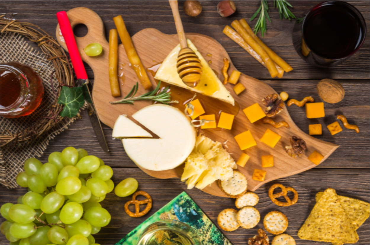Let's Celebrate with a Cheese Board…and Wine!